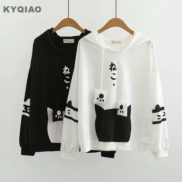 sweatshirt femme japonais