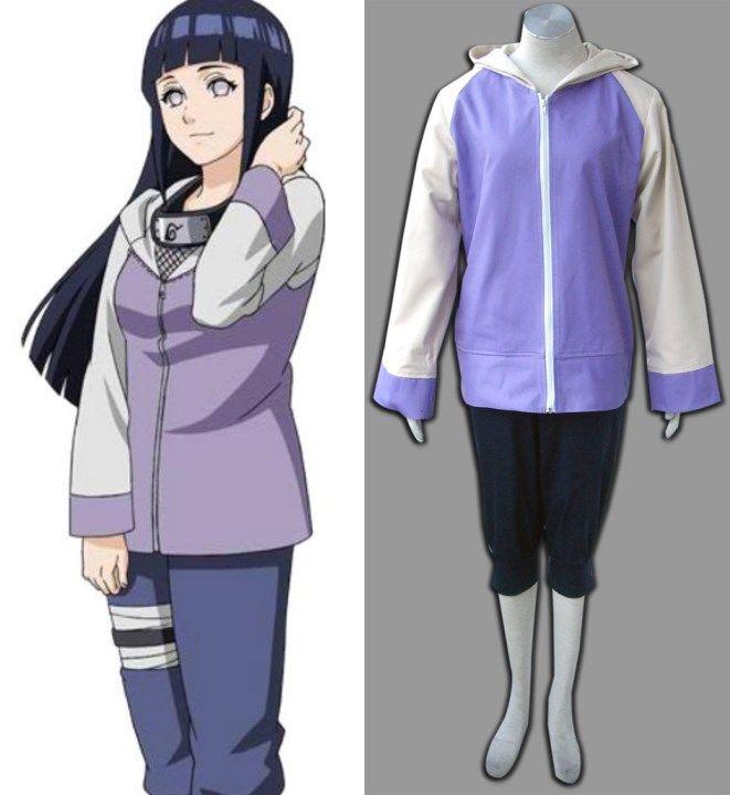 Cosplay Anime Naruto Hinata