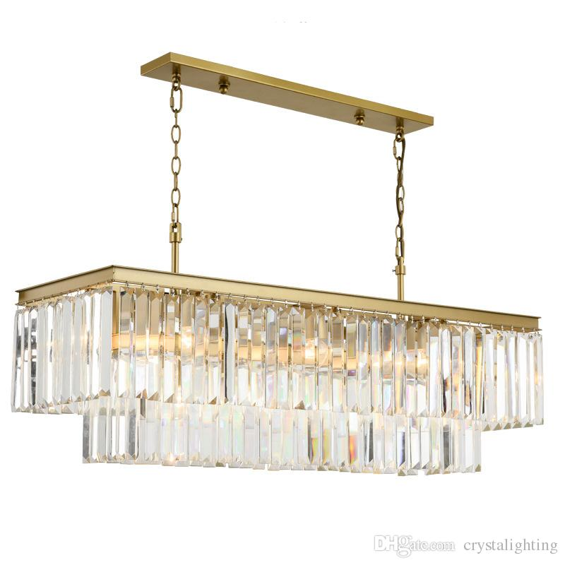 Chandelier Lighting French Empire Golden Crystal Chandelier Chrome Chandeliers Lighting Modern Lustres Light High Quality