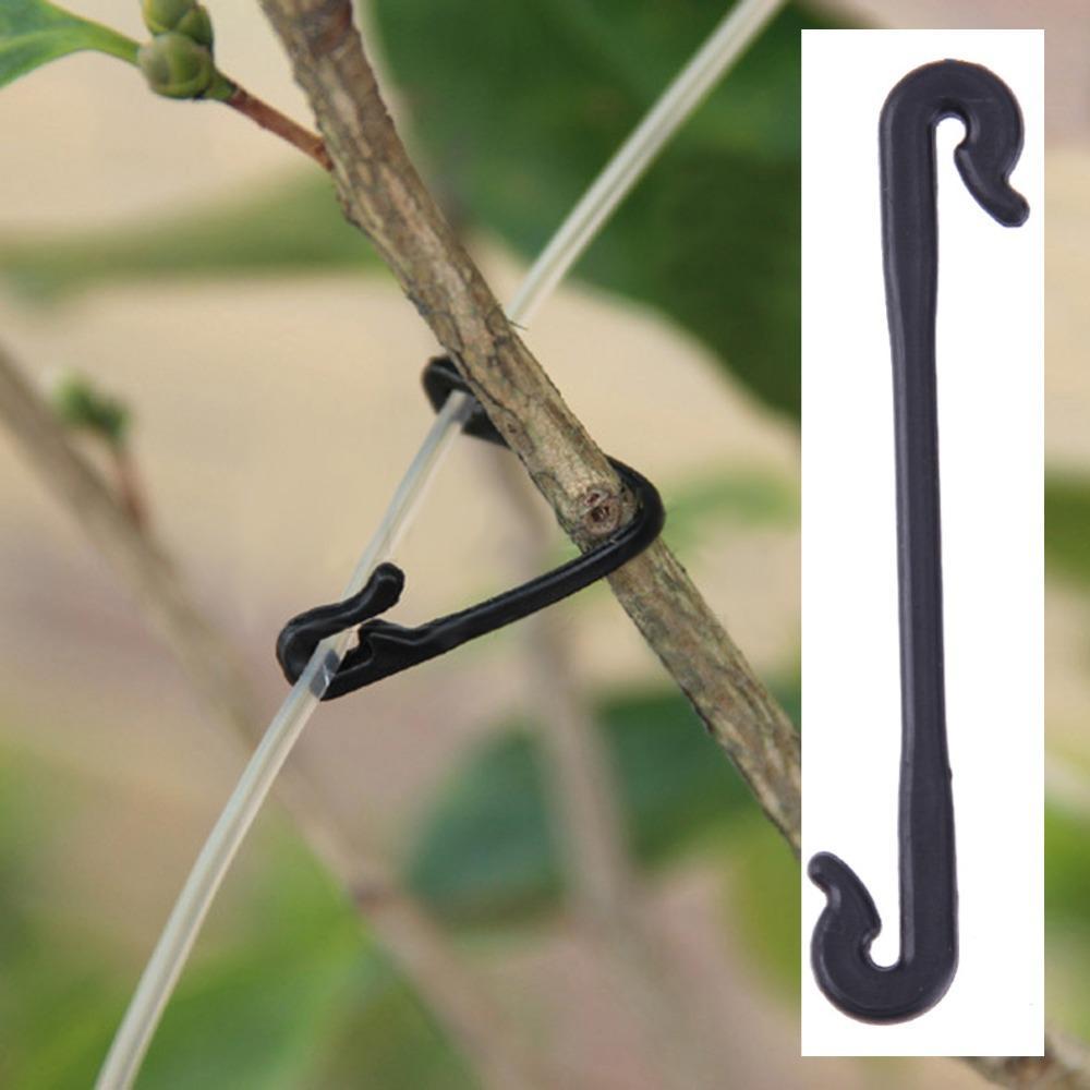 Plastic Tomato Grafting Clips Vegetable Flower Plant Graft Clamp Garden Tools Vines Clipper for Crimping 100pcs/set