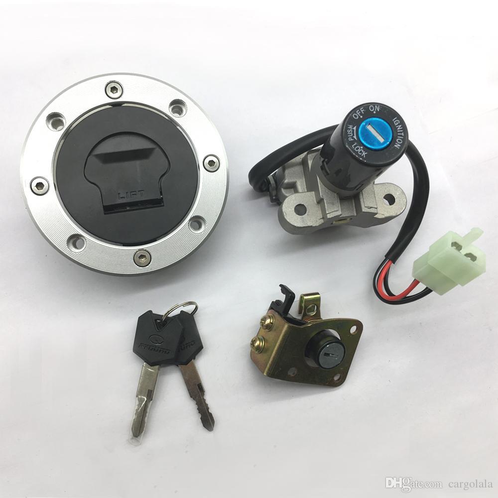 Moto Commutateur d'allumage gaz carburant Cap Pour Suzuki GSXR1000 2001-2002 SV650 1999-2002 TL1000R 1998-2003 GS500 2001-2002