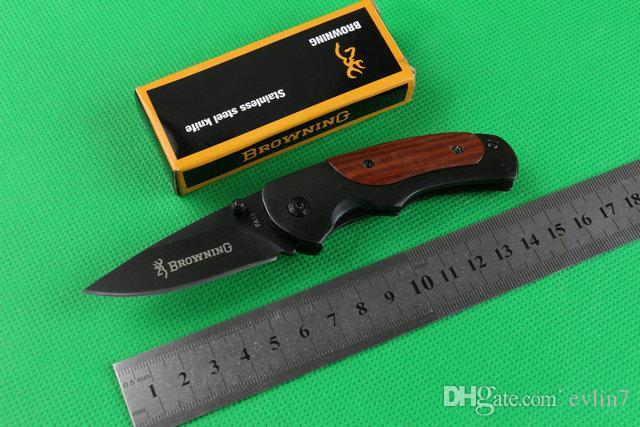 diretti 2015 Piccolo Brow FA15 sopravvivenza campeggio della lama di EDC tasca coltello pieghevole lama lame tattiche di fabbrica con l'imballaggio al minuto della scatola