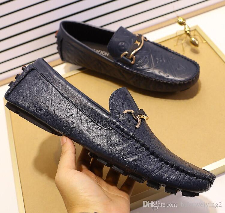 Zapatos grandes para hombre Zapatos de boda de fiesta de lujo Zapatillas de deporte inferiores, Zapatos de cuero genuino Louisfalt Spikes con cordones G6.53