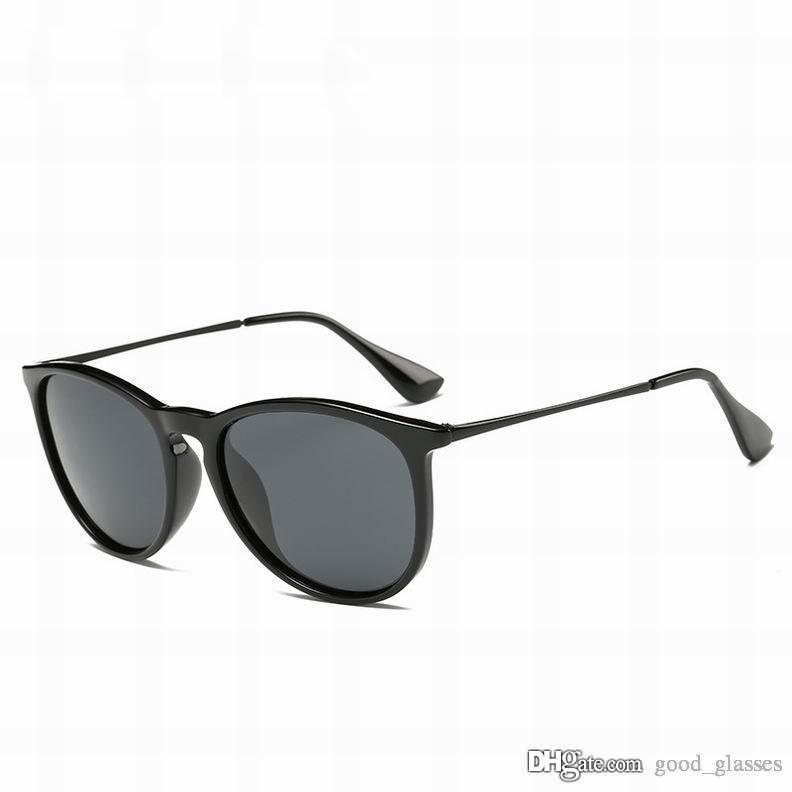 Moda para hombre Gafas de sol clásicas Diseñador de la marca Gafas de sol para mujer Gradient Shades Gafas de conducción Marco de metal Negro mate con estuches