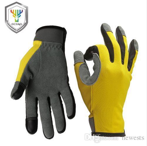 OZERO перчатки работы водителя сенсорный экран перчатки Спорт Мото открытый ниже нуля туризм охота для мужчин женщин 8009