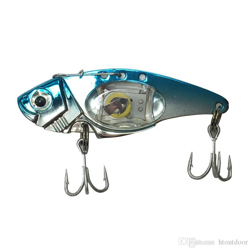 LED Fishing Hook Outdoor Flashing LED Flash Light Fishing Lure Bait Deep Water Lamp Tackle Hooks
