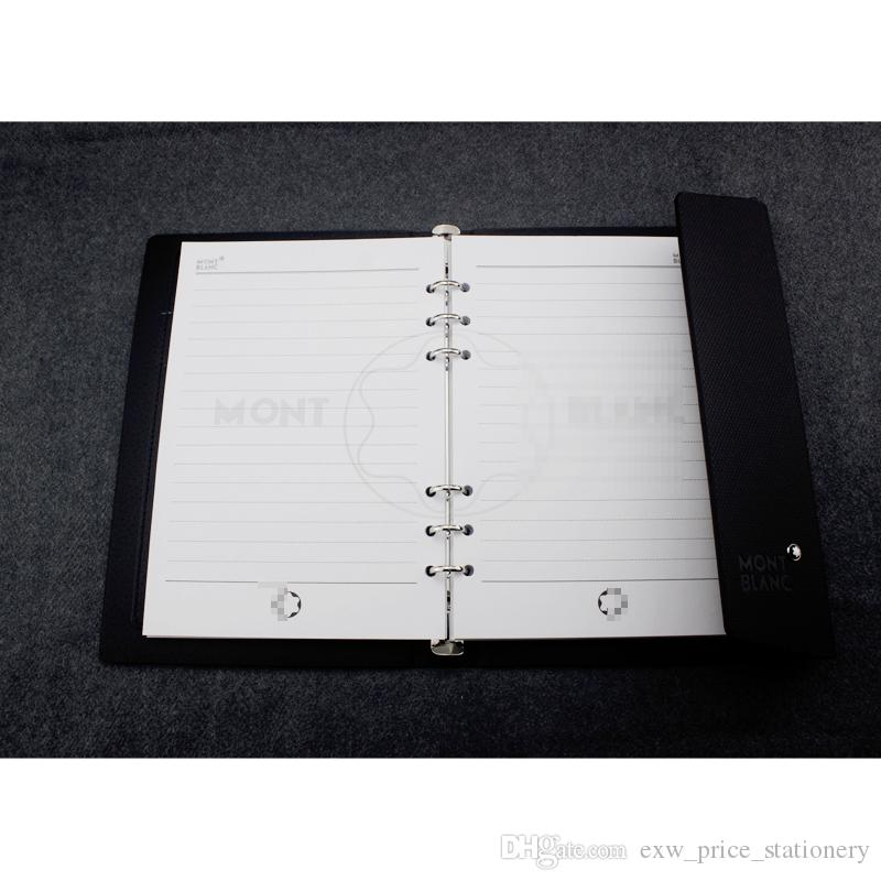 Hardcover Notebook Personal Diary Stationery Products Black Agenda Organizer Personal Travel Diary Office Supplies Portable Office Buckle