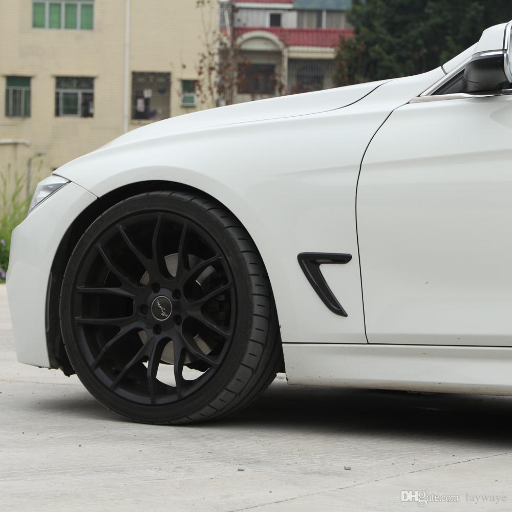 الجانب حافة سباق الشوايات الجناح درابزين فتحات تزيين الغلاف تريم ملصق لسيارات BMW F30 318I 320I 328I 330I