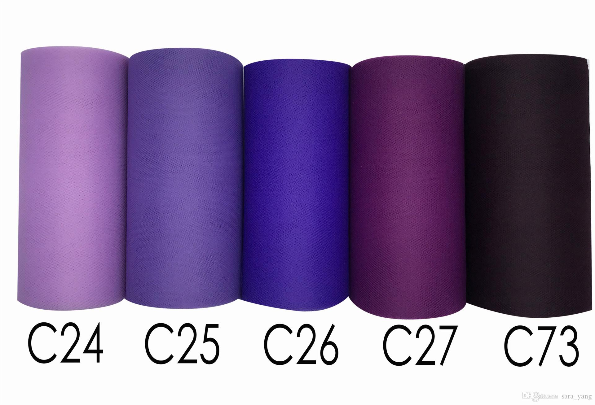 Tulle Roll 15cm 100 Yards Fabric Spool Party Birthday Gift Wrap Wedding Decor Pink C08 Tulle Roll 15cm 100 Yards Roll Fabric Spool Party Birthday Gift Wrap for Wedding Decoration Party Favors Even