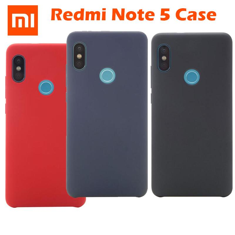 cheap for discount 8ad26 98179 Original Xiaomi Redmi Note 5 Case Cover Shockproof Snapdragon 636 Phone  Protective Back Case Hard Pc + Soft Fober Redmi Note5 Ballistic Cell Phone  ...
