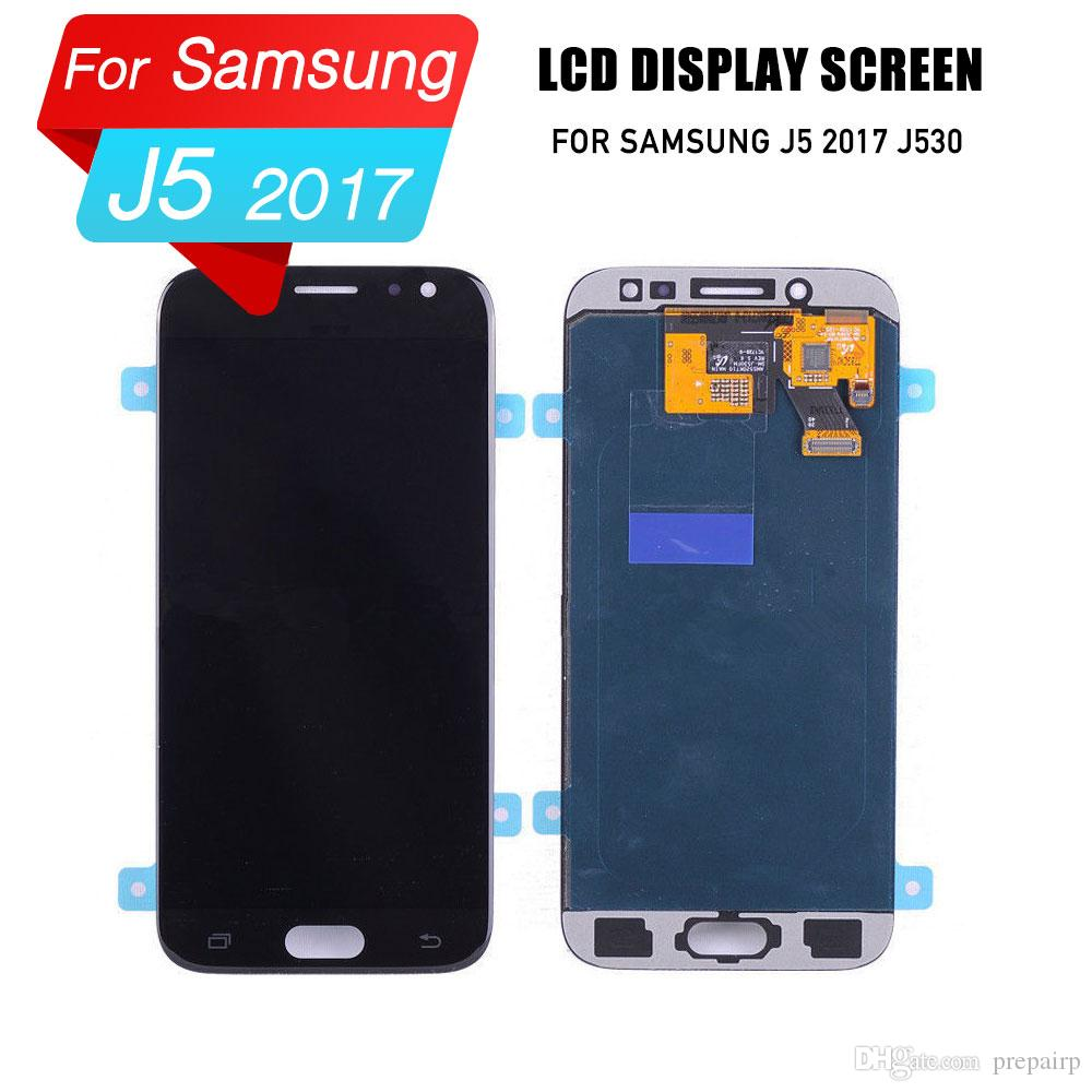 Samsung j5 PRO için prepairP lcd ekran samsung J5 PRO 2017 J530F J530Y için lcd sayısallaştırıcı ekran meclisi