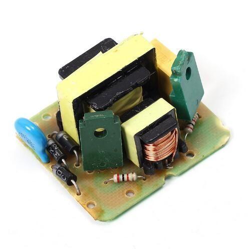 الشحن مجانا! 1 قطعة dc-ac / dc العاكس 12 فولت إلى 220 فولت دفعة تصعيد وحدة امدادات الطاقة 35 واط ثنائي القناة عكس محول مجلس قالب واحد