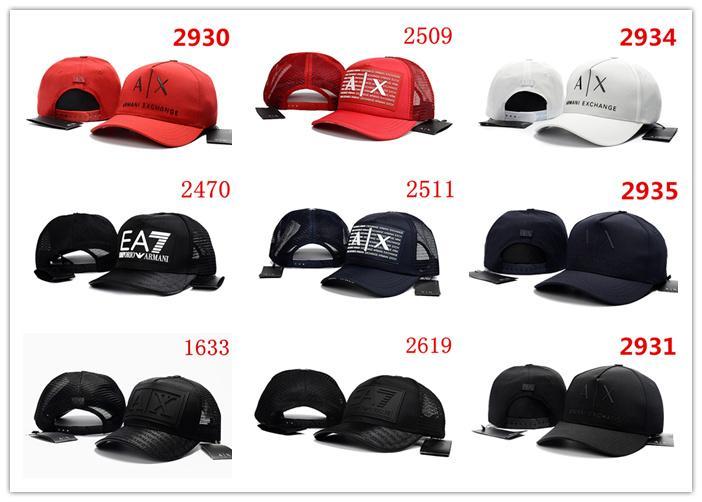 moda AX Centinaia cappelli di marca Tha Alumni Strap Cappellino uomini donne osso snapback pannello regolabile Casquette Golf Sport Berretto da baseball
