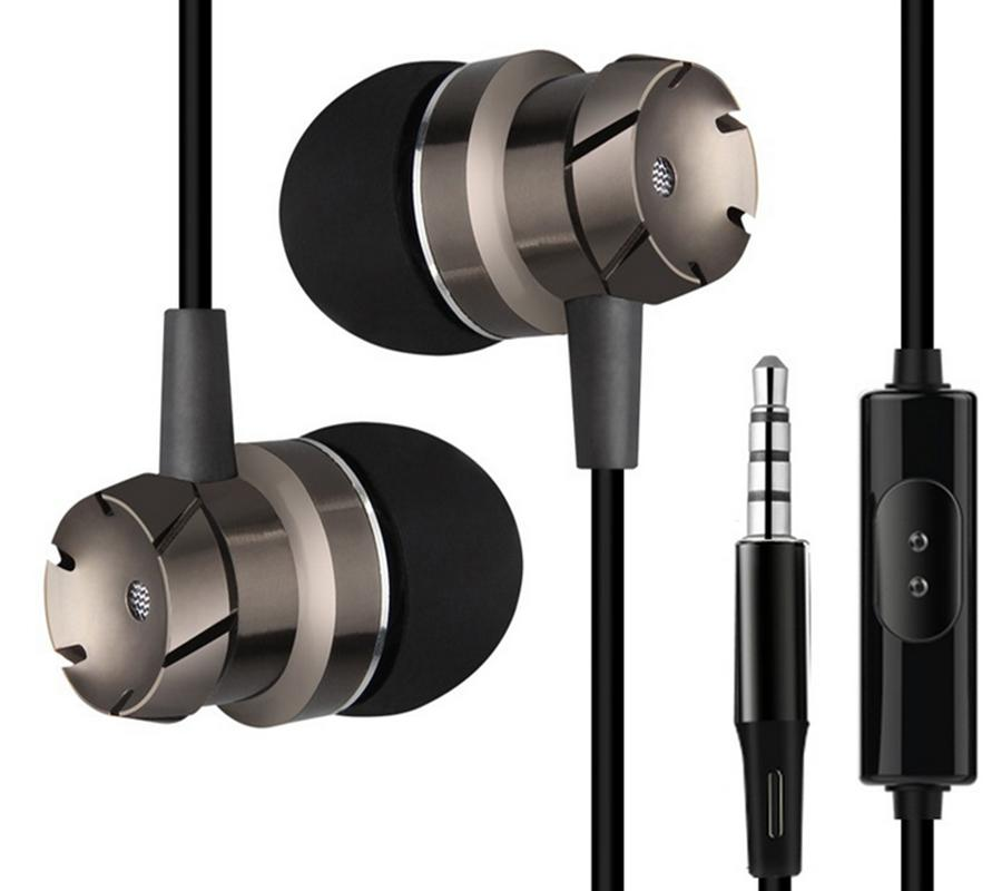 2pcs Surroud&Clear Sport Music Wired In-ear Stereo Earphones Headset Noise reduction Headphones With Mic for Cell Phone MP3 MP4,1.2m wire