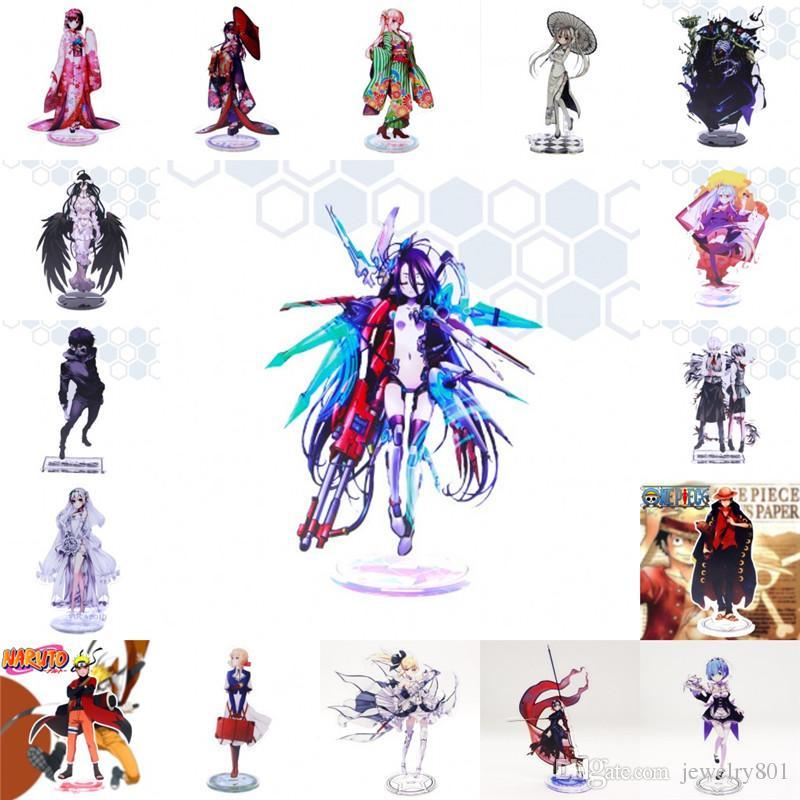 Anime Kein Spiel Kein Leben Null Acryl Stand Figur Tokyo Ghul Schicksal Großauftrag Naruto Re: Null Kara Hajimeru Isekai Seikatsu Stand Figur Spielzeug