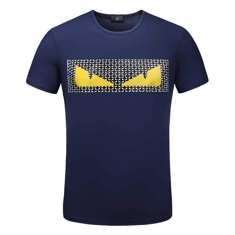 Hommes Designer T Shirts Homme T-shirt pour hommes Vêtements d'été Crew Neck Casual Modal manches courtes de haute couture de qualité shirt pour homme Taille M-3XL
