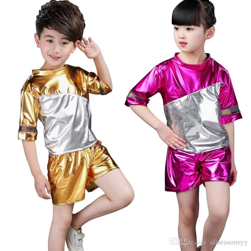 Nuevos disfraces para niños, niña, jazz, danza, hip-hop, danza moderna, disfraces para niños, hip-hop, trajes para bailar