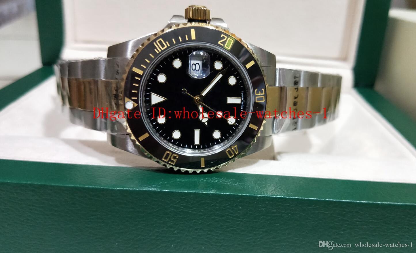 Navidad seis estilo de calidad superior 5 2813 Bisel de cerámica Movimiento 116610LV 116613 116613LN 116660 116660-98210 116619 Reloj de pulsera para hombre