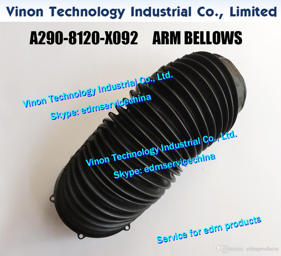 (1pc) A290-8120-X092 Fanuc ARM BELLOWS لـ CNC WIRE CUT EDM MACHINES A2908120X092 Lower Arm Bellows 0iD2، 0i