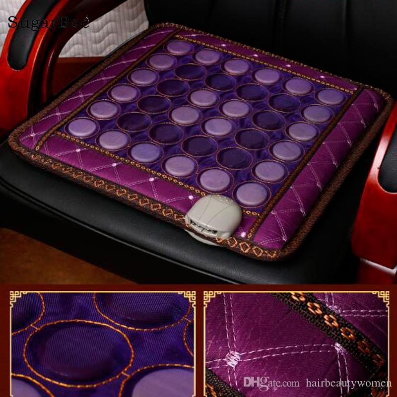 Seat Mattress Jade Electric Heating Pad Pain Relief Korea Health Thermal Stone Mat High Quality Made In China