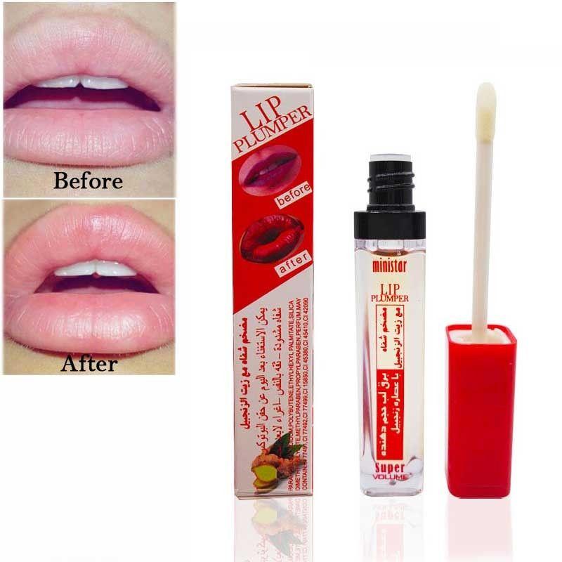 Trucco Super Volume Plump it Lip Gloss Cosmetici Bellezza Idratante Matte Liquid Lipstick Long Lasting Lip Plumper