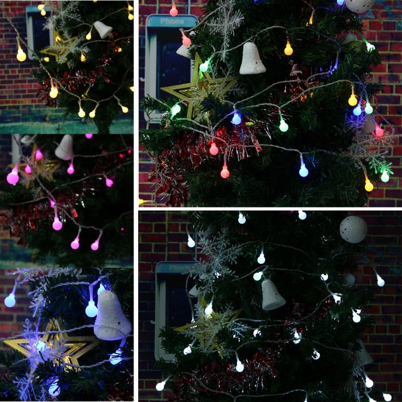 2 2m Party Decorations Led Solar Led String Lights Garland