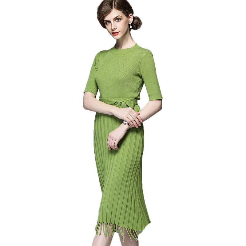 الجملة مخطط اثنان قطعة مجموعة فستان مثير المرأة الأنيقة قصيرة الأكمام bodycon سترة فساتين حزب vestidos