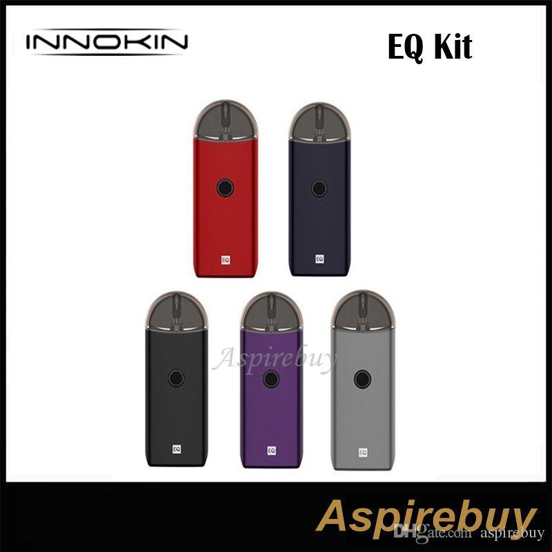 Innokin EQ Kit EQ Pod System Kit встроенная батарея 800 мАч с емкостью сока 2 мл одна кнопка активации MTL Vape Mod 100% оригинал