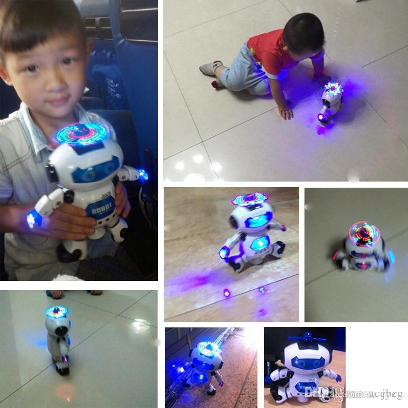 8 Designs Deformation Figure Robots Watch Electronic Deformation Watch Toy For Children Kids Party Favor