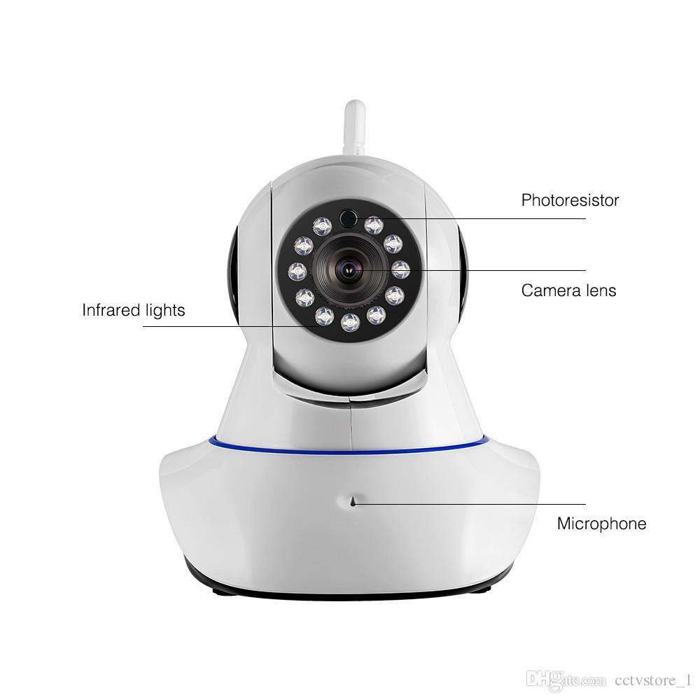 1080P HD Wireless IP Camera Home Security Smart WiFi WI-FI Audio CCTV Camera UK