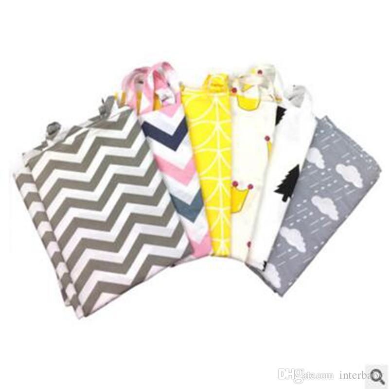 Cubierta de la enfermería del bebé Cubiertas de la ubre del bebé Raya de enfermería Envoltura de la privacidad Cubierta de tela de algodón Postparto Lactancia Toalla 7 estilos YL50