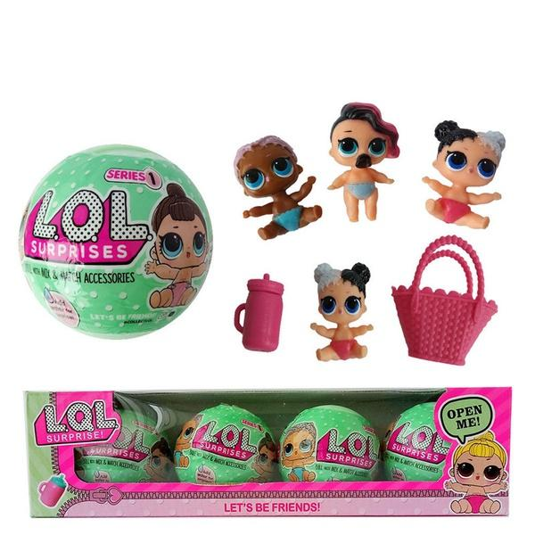 BABY CAT SERIES 2 dolls toys TTUS With bag LOL Surprise LiL Sisters L.O.L