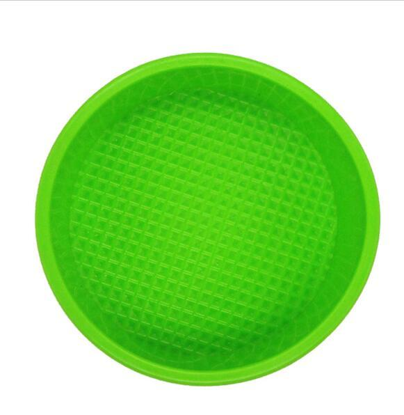 8 inch /20cm High quality 100% Food Grade Silicone Cake pan/Pizza Cupcake Pan Big Round Bakeware DIY Mold