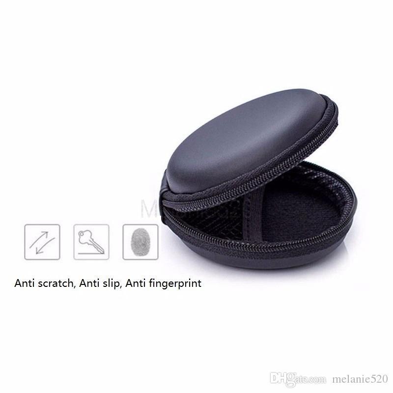 Fall Kopfhörer-Fall Headset-Box Hard-Bag Aufbewahrung Reißverschluss Mini