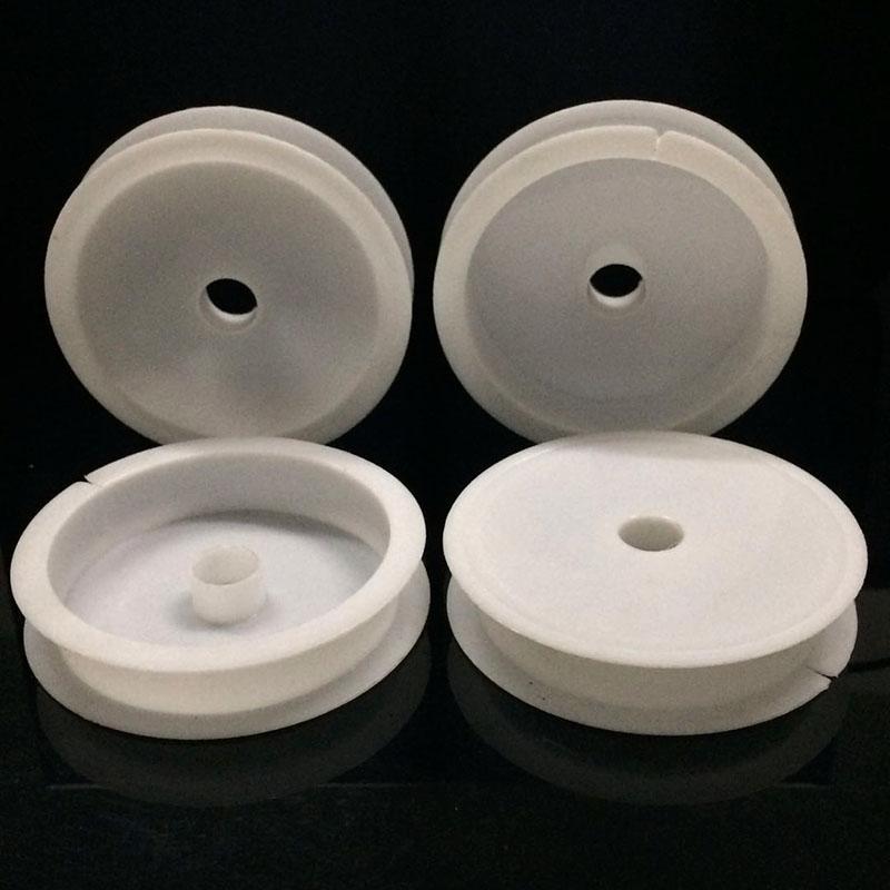 6,7 cm * 1,3 cm Kunststoff Leere Kunststoffspulen für DIY Perlen Draht Faden Schnur Schnur Draht Rolle Großhandelspreis