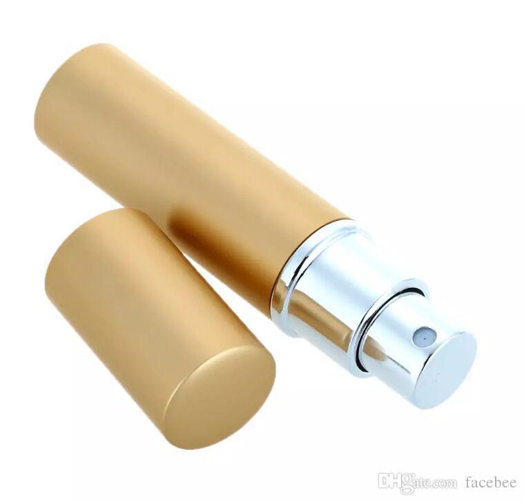 6ml nuovo modo elegante bottiglia di profumo riutilizzabile di alluminio del metallo Spray boccetta cosmetico di corsa Mini Spray Bottle