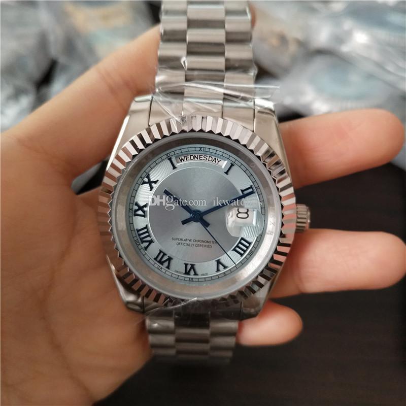 뜨거운 판매 패션 남성의 기계 시계는 자동 달력 사람 R52 무료 배송 클래식 시계 시계 손목 시계
