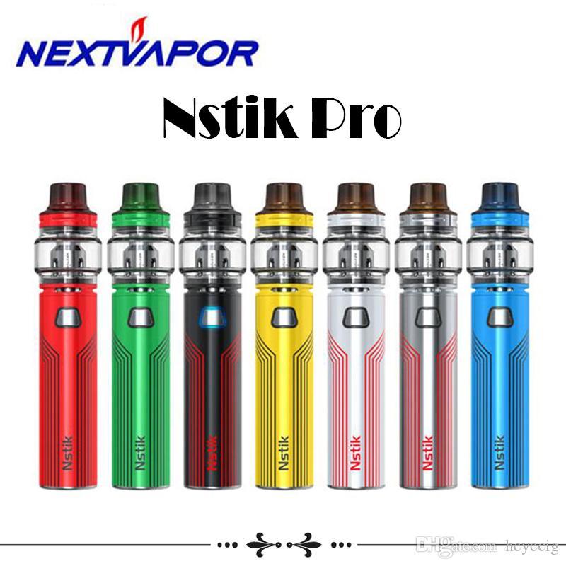 Authentic Nextvapor Nstik Pro Kit 2800mAh Built-in Battery 60W Vape Pen For 510 Thread Atomizer Tank E-Cigarette Kit Hot