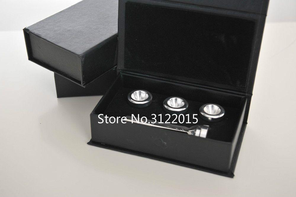 전문 소형 Bb 트럼펫 마우스 피스 5 PCS / Set 7C 5C 3C 1C 금은 표면 순수 구리 악기 액세서리