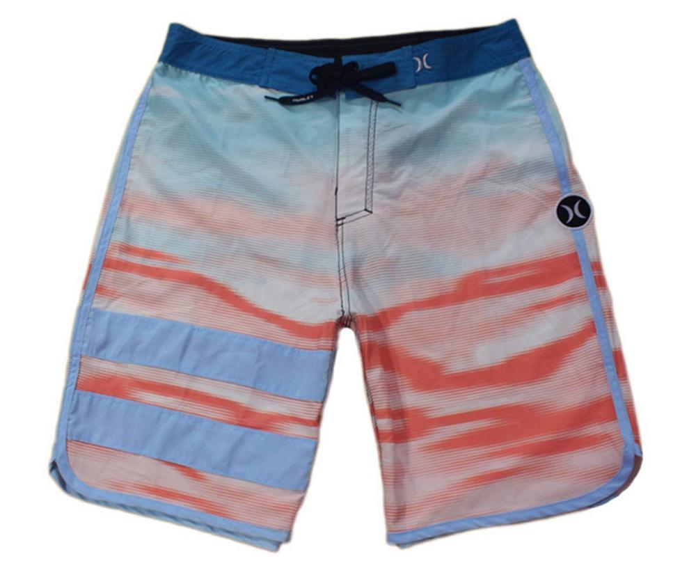 Awesome Elastic Fabric Loose Low Casual Shorts Mens Bermudas Shorts Board Shorts Beachshorts Quick Dry Surf Pants Swimwear Swim Trunks NEW