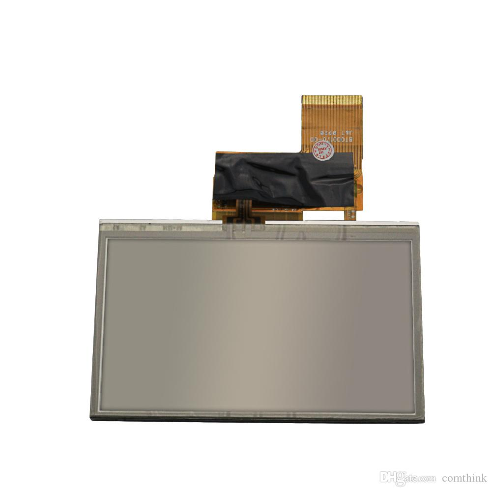 LCD Screen Display For Navigon 3310Max 4310Max AT043TN24 V7 With Touch Screen Glass Replacement Parts