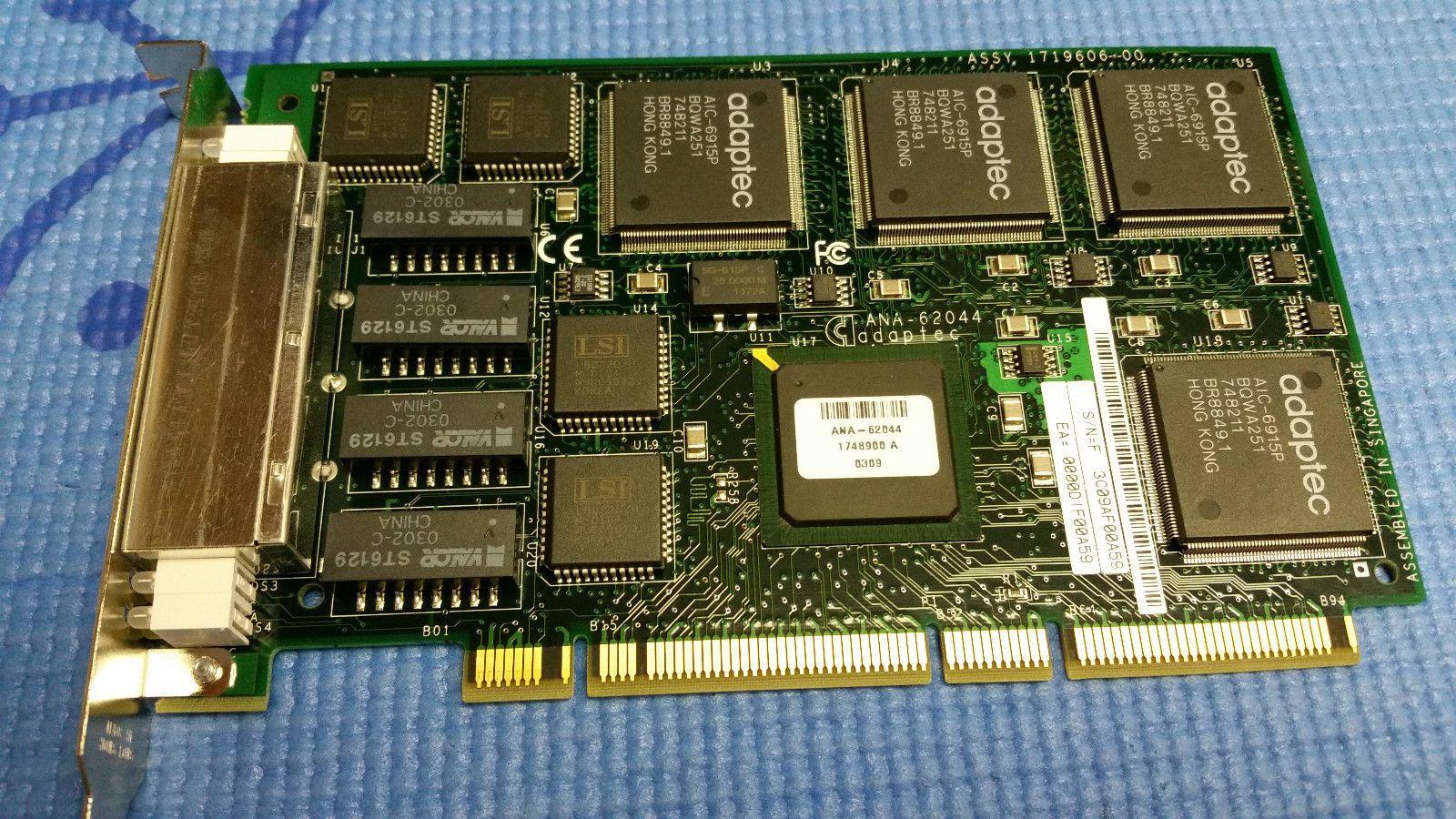 ANA-62044 PCI 64-разрядный четырехъядерный 4-портовый сетевой адаптер Ethernet Lan