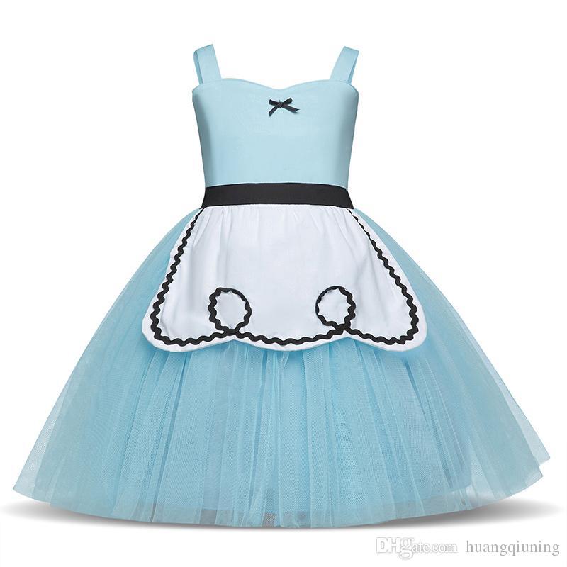 Baby Weihnachtskleid Karnevals-Party Tutu-Kleidung Fancy Tüll-Ballett-Kostüm-Kleid-Prinzessin Cosplay Geburtstag Outfits