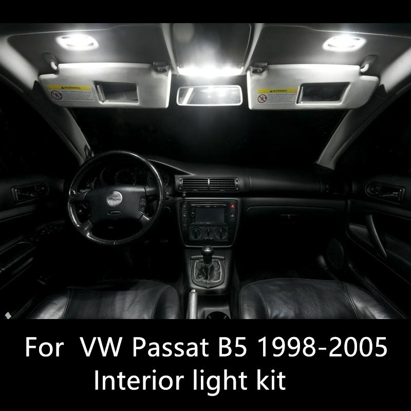Compre Shinman Erro Bulbo Gratuito Lamp Led Auto Car Light Interior Kit Para Volkswagen Vw Passat Acessórios B5 1998 2005 De Molls 107 64 Pt Dhgate Com