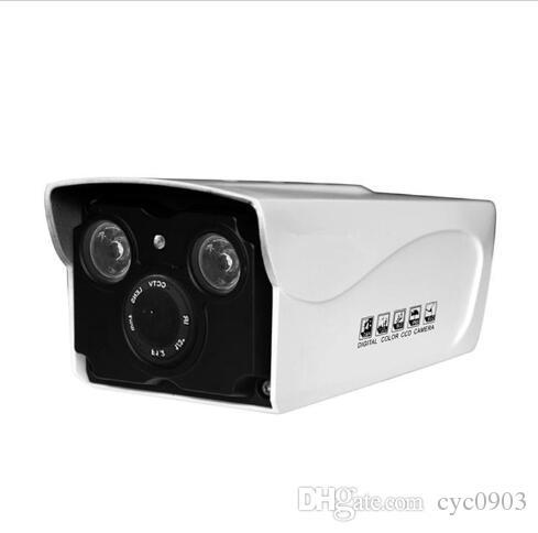 IP-камера обнаружения движения три органа регулировки уровня сжатия Гром-доказательство IPC с 2 инфракрасные лампы 60M ИК МПК-RH2-Т