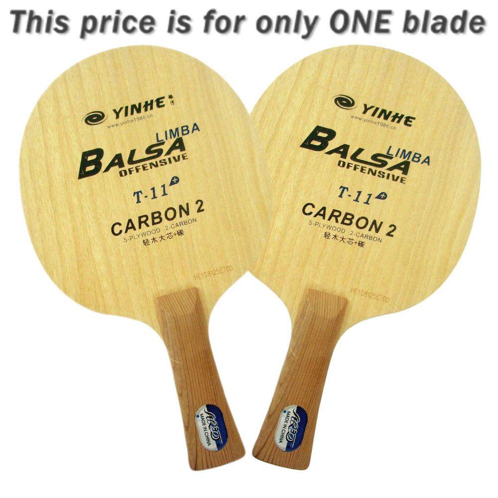 مجرة درب التبانة Yinhe T-11 + T 11+ T11 + Limba Balsa OFF Table Tennis Blade ل PingPong Racket