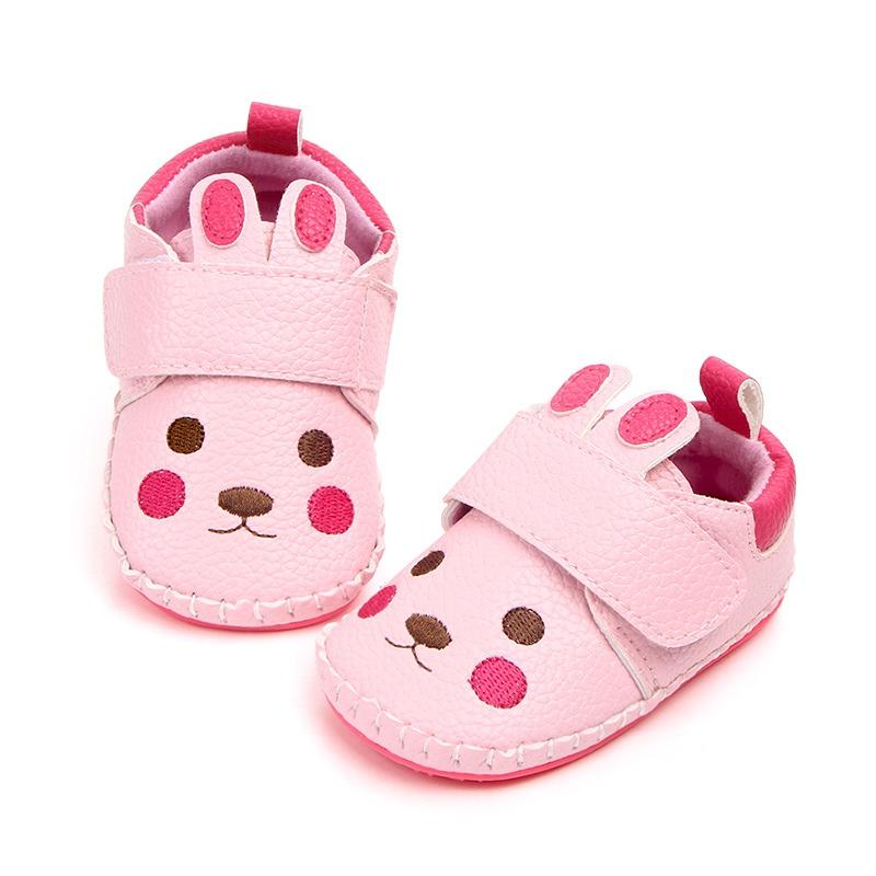 Baby Newborn Kids Non-slip Soft Shoes Lovely Toddler Girls Prewalker Shoes 0-12M