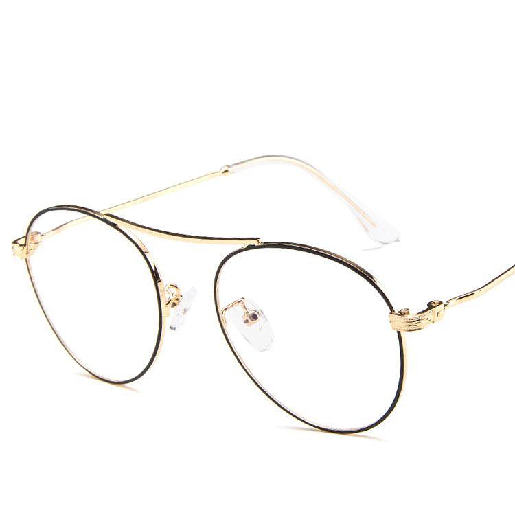 acheter en ligne ef0fb 50d58 Acheter Lunettes De Vue Rondes Vintage Lunettes Lunettes Oeil Optique Homme  Femmes Unisexe Lunettes Oculos De Grau Cadre De $30.53 Du Duoyun | ...