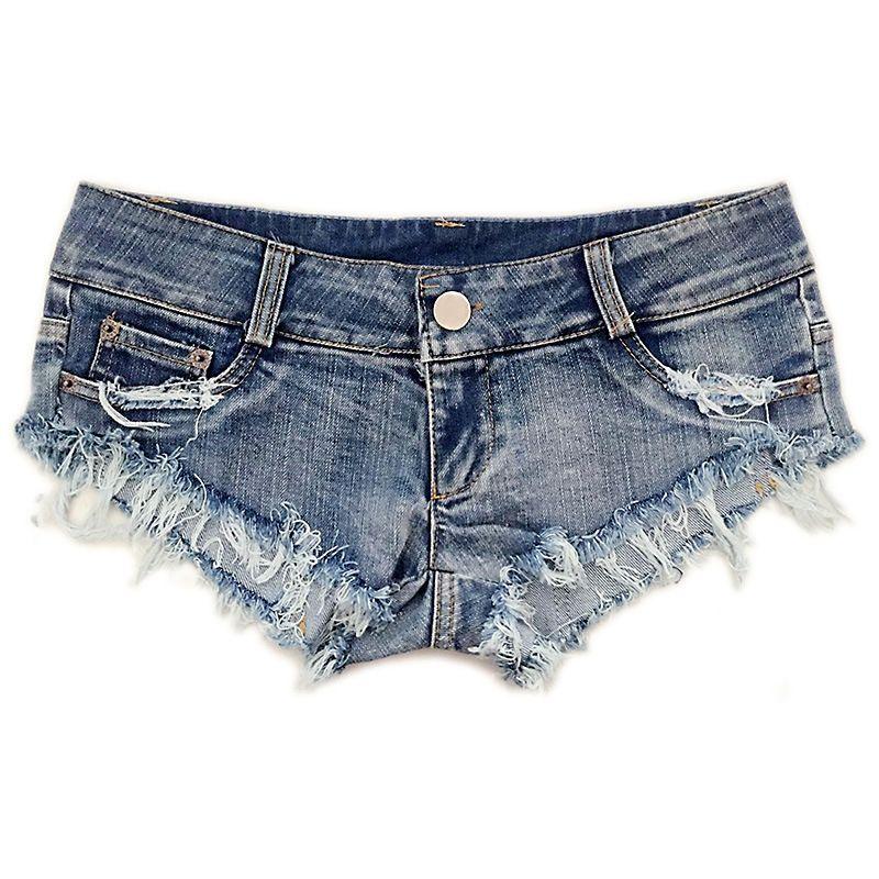 heiße Angebote begrenzter Verkauf Sonderangebot Großhandel Sexy Denim Kurze Hosen Für Frauen Hot Pants Quaste Jeans  Niedrige Taille Zerrissene Shorts Mädchen Sexy Nacht Clubwear Von Dfbeauty,  $39.94 ...