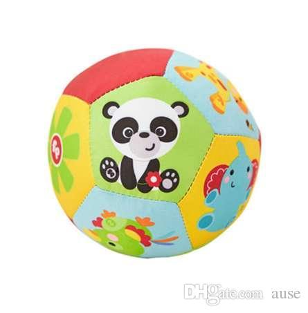 Baby Ball Toys Animal Ball Soft Stuffed Toy Balls Sonajeros para bebés Bebés Infantiles Body Building Ball